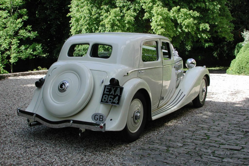 Vintage Wedding Cars - Classic Triumph | Beautiful Vintage Triumph ...