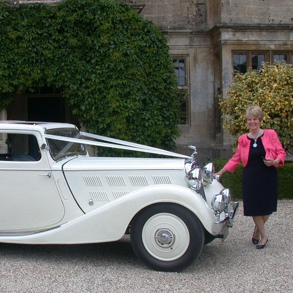 Beautiful Vintage Triumph Weddings gloucestershire